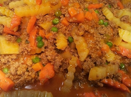 Beef Picadillo (Filipino Style) | Yummy-as-can-be